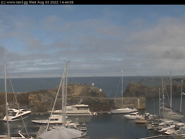 Beaucette Marina webcam